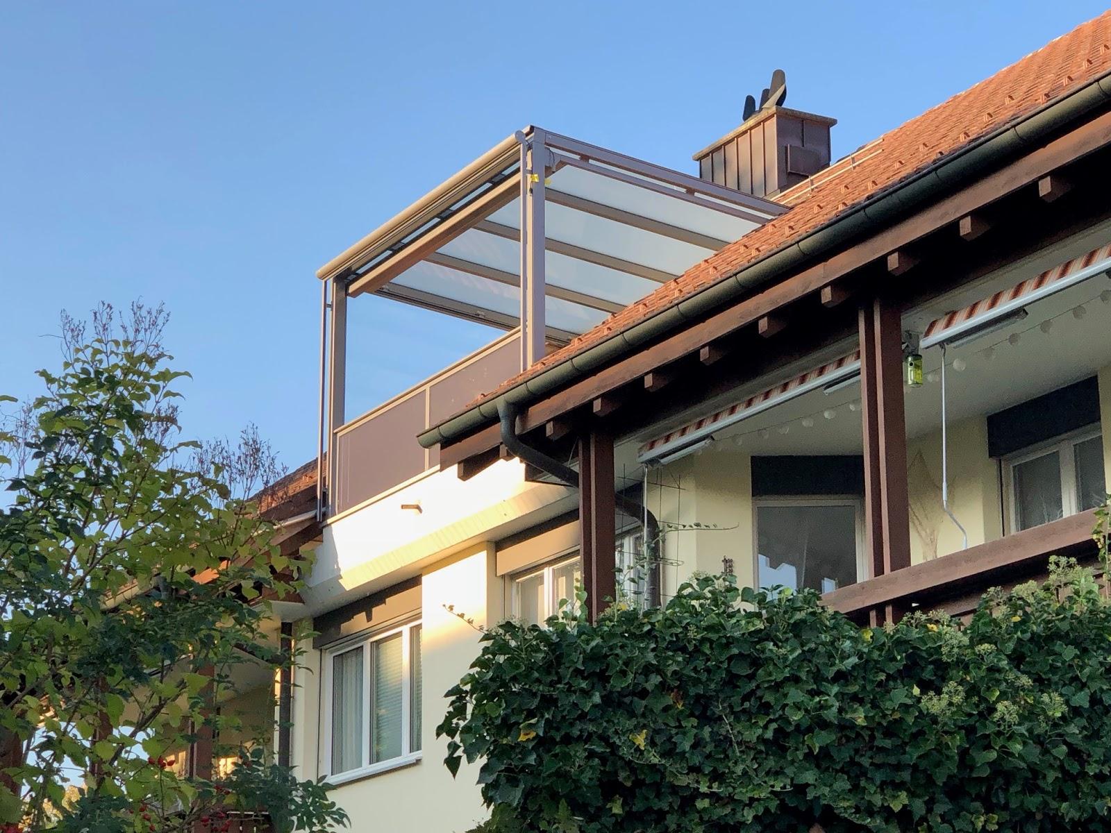 Sitzplatzüberdachung | Schibler Metallbauteile
